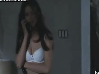 Sexy Nina Garbiras in Hot White Lingerie