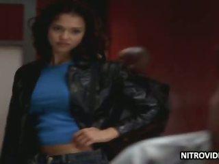 Hottest Latina Babe Jessica Alba Looking Hot - 'Dark Angel' Episode