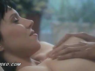 Valentine Demy Receiving a Great Massage