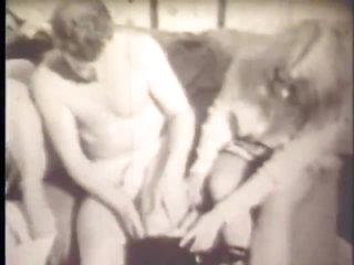 Retro FFM Threesome With Emily Angel & Sally Pepper