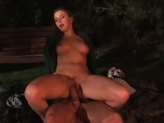 Horny bitch Kelly Kline rides this dick up her love tunnel