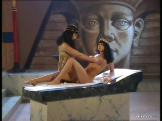 Brunettes Jessica May and Julia Taylor Fucked In Egyptian Threesome