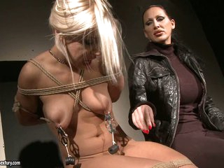 Mandy Bright and Nicky Thorne hard torture