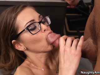 Student Riley Reid will get good grades this term