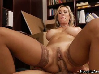 Brandi Love rides a hot young studs hot ramrod
