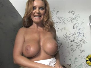 Amazing Janet Mason gets her massive melons out