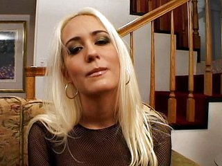 Horny blonde Trina Michaels double dipped