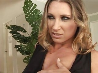 Devon Lee's sweet MILF muff is serviced by a black cock