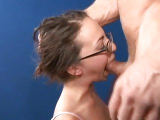Veronica Jett gets her moist throat slammed