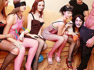 Raunchy and wild party porn