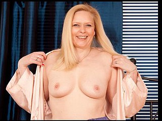 Ivory skinned Anilos Tamara teases her clitoris with a vibrator