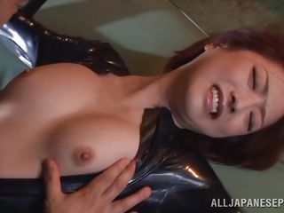 sexy japanese slut tied and fingered