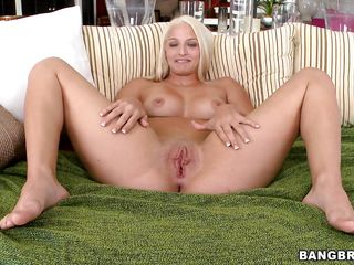 blue eyes blonde sucking and fucking a big dick