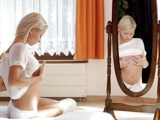 mirror, mirror i'm a horny slut