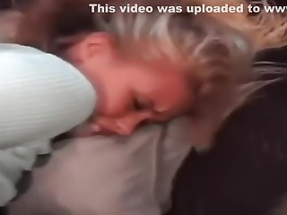 Golden-Haired girlfriend receives her cunt screwed hard.