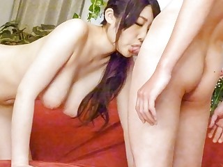 Exotic Japanese slut Rie Tachikawa in Horny JAV uncensored Blowjob clip