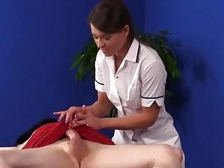 Cfnm masseuse oils dong