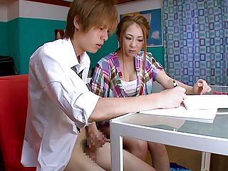 Incredible Japanese girl Minori Hatsune in Fabulous JAV censored Facial, Hairy movie