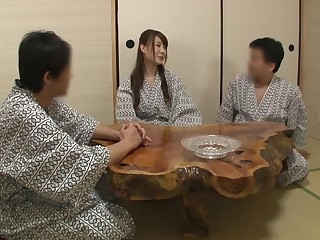 Horny Japanese model Yukina Ehara, Yuka Tachibana, Mana Makihara in Exotic cougar, fingering JAV scene