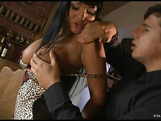 Breasty Pornstar Angelica Heart Fucks A Large Cock Until Cum Fills Her Face