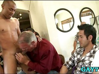 Gay like cock engulfing party