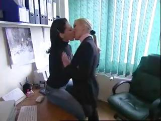 Various hot vids of sexy lesbians babes in sensual kissing