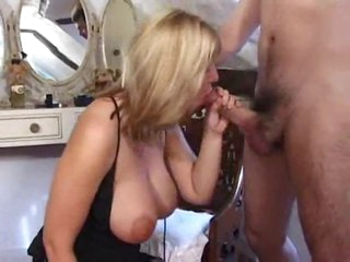 British milf with curves and big tits fucked