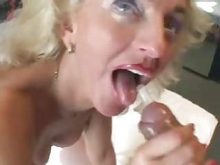Mature German blonde wants to make a porn - Sascha Production