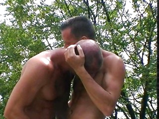 Outdoor gay sex lust