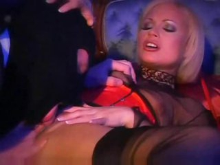 Big hard dick meat pumping two blondes