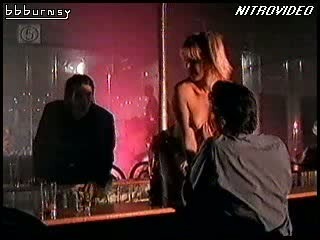 Blonde MILF Amy Lindsay Shows Her Juicy Jugs During a Sexy Striptease