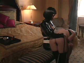 Female-dom Abuses Her Subordinates