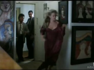 Stunning Blonde Sally Kirkland Questioned By The Police