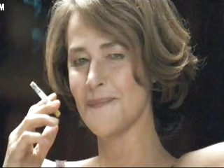 Hot MILF Smoking in her Underware