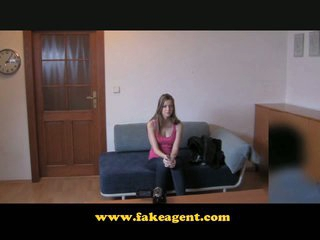 FakeAgent First time disrobe and bold pussy