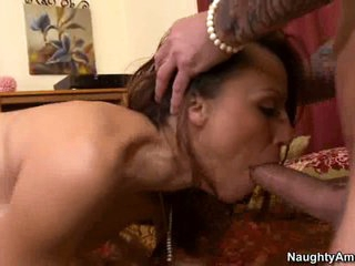 Layla Rivera doing a hard head job for horny neighbor