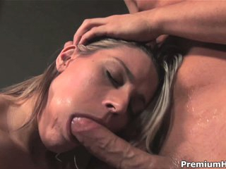 Megan Joy acquires face fucked in advance of eating cum