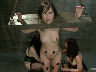Isis Love and January Seraph torture a hot chick