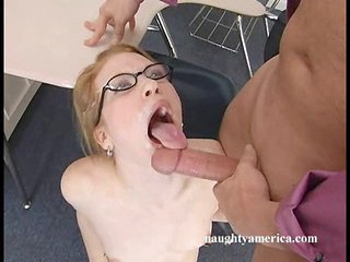 Hot Madison Young has hot sticky cum discharged in her sweet face hole