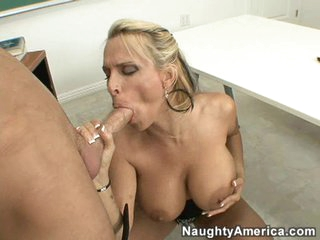 Giving grades and giving head.  Hot teacher Holly Halston knows best!