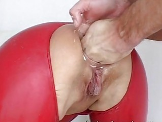 Milf bizarre housewife amateur kinky huge ass insertions