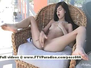Ftv girltamaraskinny brunette girl masturbating