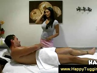 Asian Allanah gives a sensual massage