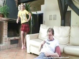 His female trainer