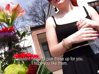 bitch wants flowers in exchange for her ass