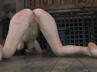 Sweet angel next door waits for her hardcore sadomasochism punishment