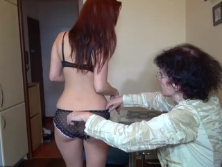 Old granny and sexy youthful stunner