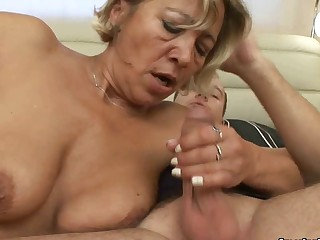 Aged getting screwed and awaiting for cum