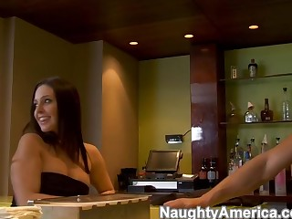 Gracie Glam & Tori Swarthy & Danny Mountain in Naughty Rich Girls