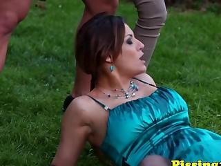 ### fetish sluts outdoor threesome